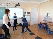 Тренинг в гимназии №5